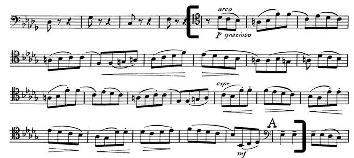 Чайковский. Симфония №4. Вторая часть