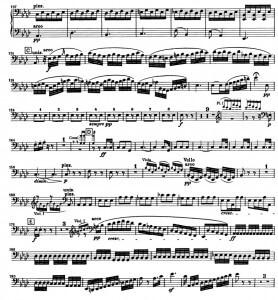 Бетховен. Симфония №5. Вторая часть, Andante con moto, отрывки 4 и 5