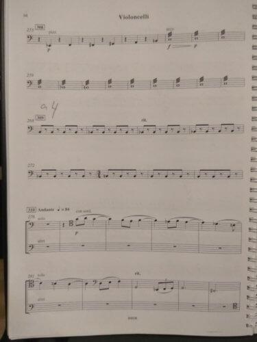 """Шостакович. """"Катерина Измайлова"""". Соло 3, страница 1"""